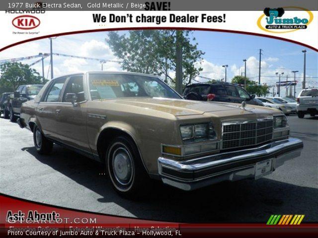 1977 Buick Electra Sedan in Gold Metallic
