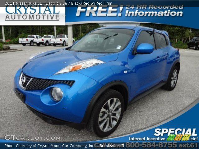 Electric Blue Nissan Xterra