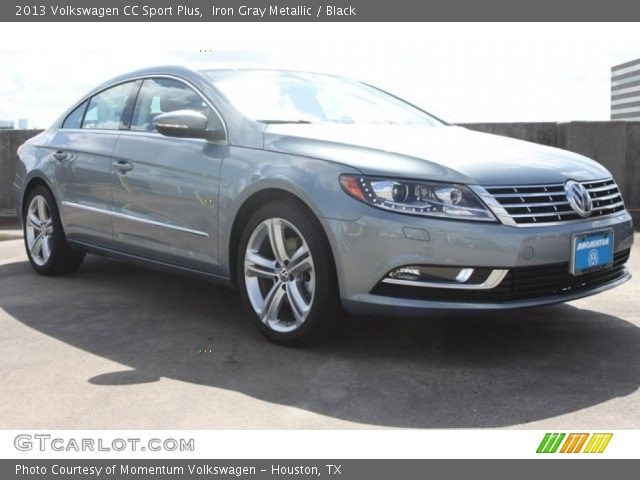 iron gray metallic 2013 volkswagen cc sport plus black interior vehicle. Black Bedroom Furniture Sets. Home Design Ideas