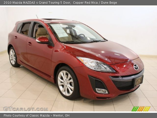 copper red mica 2010 mazda mazda3 s grand touring 5 door. Black Bedroom Furniture Sets. Home Design Ideas