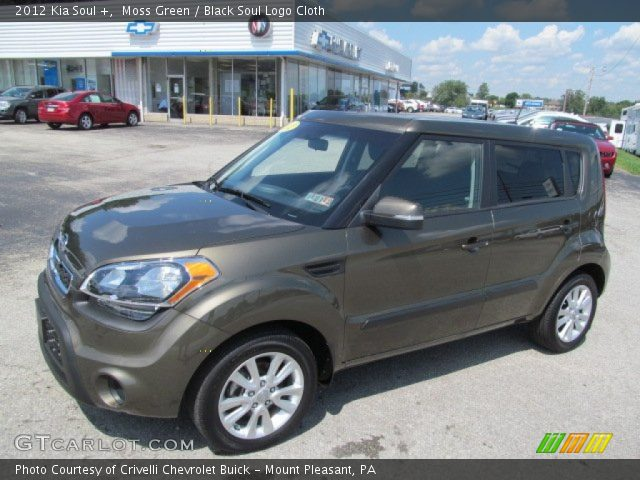 Moss green 2012 kia soul black soul logo cloth interior vehicle archive 2012 kia soul exterior colors