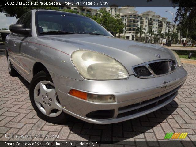 2002 Daewoo Nubira SE Sedan in Poly Silver Metallic