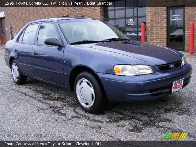 twilight blue pearl 1999 toyota corolla ce light. Black Bedroom Furniture Sets. Home Design Ideas