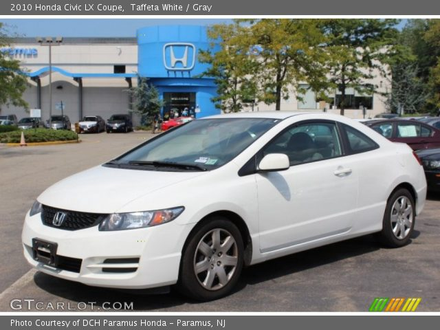 taffeta white 2010 honda civic lx coupe gray interior. Black Bedroom Furniture Sets. Home Design Ideas
