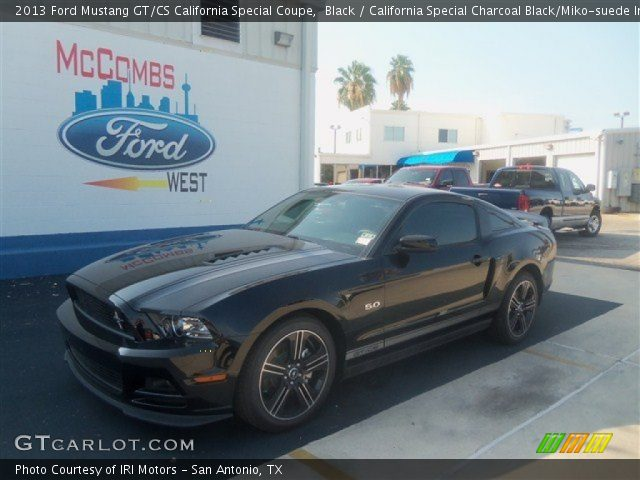 black 2013 ford mustang gt cs california special coupe california special charcoal black. Black Bedroom Furniture Sets. Home Design Ideas