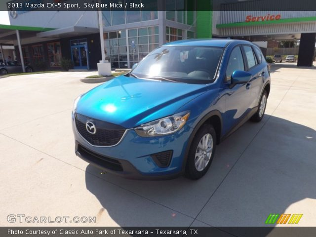 2013 Mazda CX-5 Sport in Sky Blue Mica