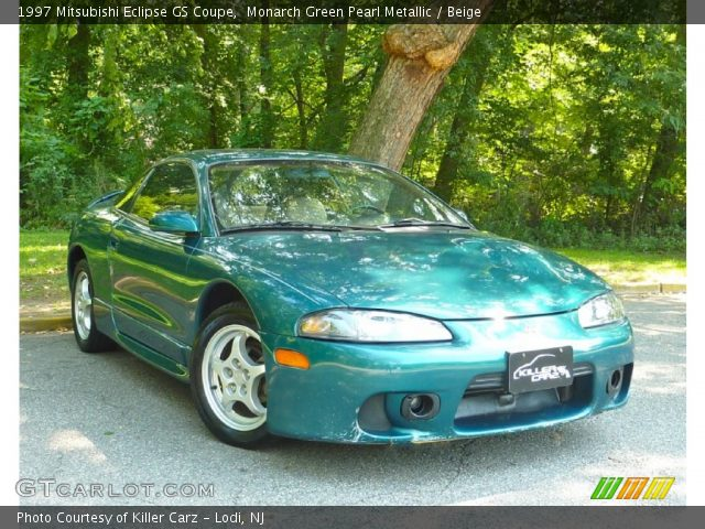 monarch green pearl metallic 1997 mitsubishi eclipse gs. Black Bedroom Furniture Sets. Home Design Ideas