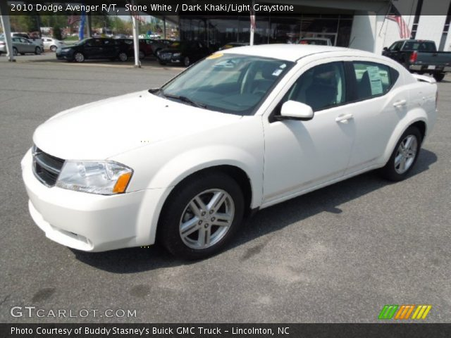stone white 2010 dodge avenger r t dark khaki light. Black Bedroom Furniture Sets. Home Design Ideas