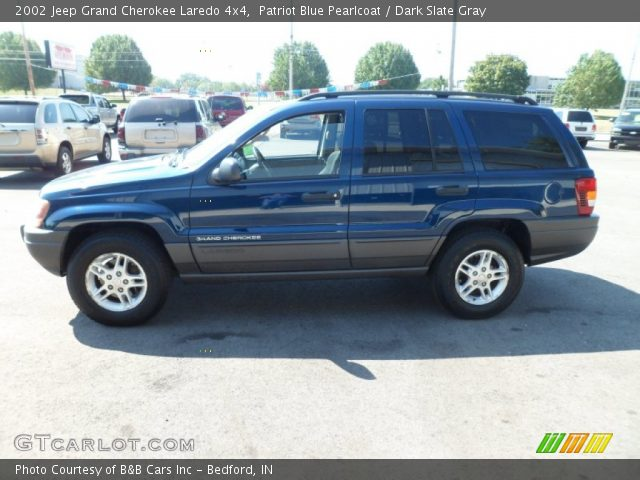 2002 jeep grand cherokee laredo 4x4 in patriot blue pearlcoat click. Cars Review. Best American Auto & Cars Review