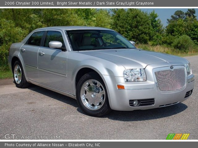 Bright Silver Metallic 2006 Chrysler 300 Limited Dark Slate Gray Light Graystone Interior Gtcarlot Com Vehicle Archive 69905366