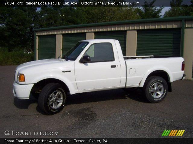 Oxford Car And Truck >> Oxford White - 2004 Ford Ranger Edge Regular Cab 4x4 - Medium Dark Flint Interior | GTCarLot.com ...