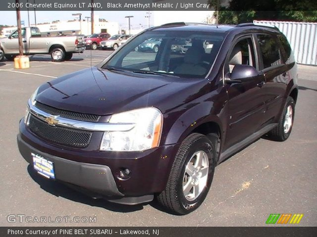 Black Amethyst Metallic  2006 Chevrolet Equinox LT AWD  Light