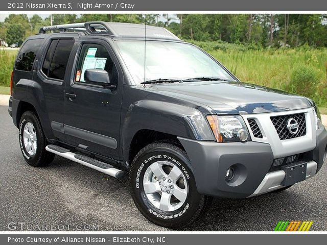 night armor 2012 nissan xterra s gray interior vehicle archive 69905253. Black Bedroom Furniture Sets. Home Design Ideas