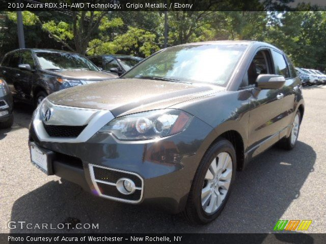 2010 acura rdx sh awd technology in grigio metallic click to see. Black Bedroom Furniture Sets. Home Design Ideas