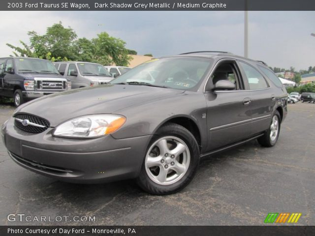 2003 Ford Taurus SE Wagon in Dark Shadow Grey Metallic. Click to see ...