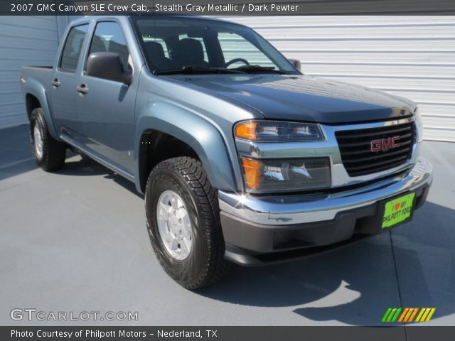 stealth gray metallic 2007 gmc canyon sle crew cab. Black Bedroom Furniture Sets. Home Design Ideas