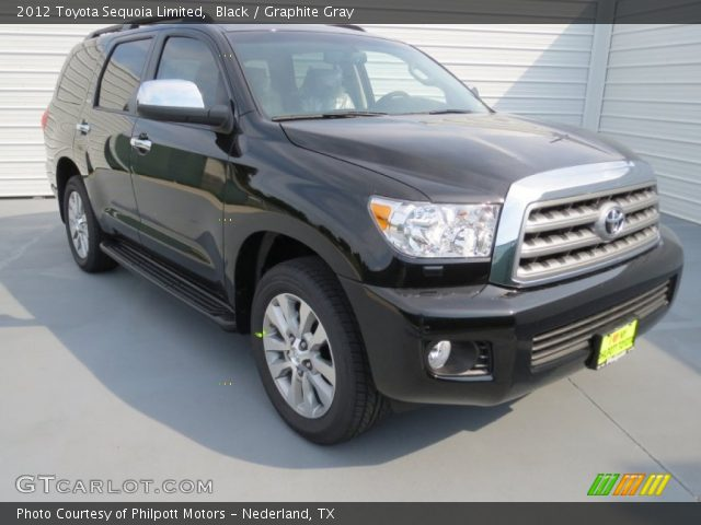 black 2012 toyota sequoia limited graphite gray. Black Bedroom Furniture Sets. Home Design Ideas