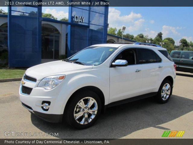 2013 Chevrolet Equinox LTZ AWD in Summit White. Click to see large ...