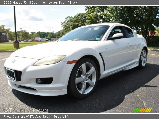 whitewater pearl 2005 mazda rx 8 sport black interior vehicle archive 69997778. Black Bedroom Furniture Sets. Home Design Ideas