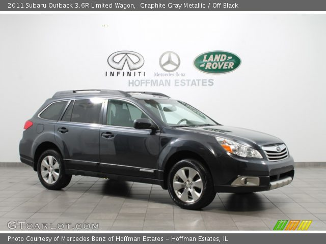 graphite gray metallic 2011 subaru outback 3 6r limited. Black Bedroom Furniture Sets. Home Design Ideas