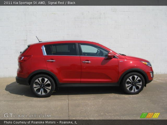 2011 Kia Sportage SX AWD in Signal Red
