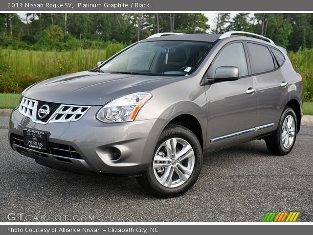Platinum graphite 2013 nissan rogue sv black interior - 2012 nissan rogue exterior colors ...