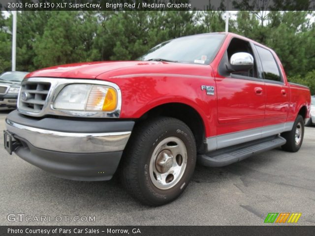 bright red 2002 ford f150 xlt supercrew medium. Black Bedroom Furniture Sets. Home Design Ideas