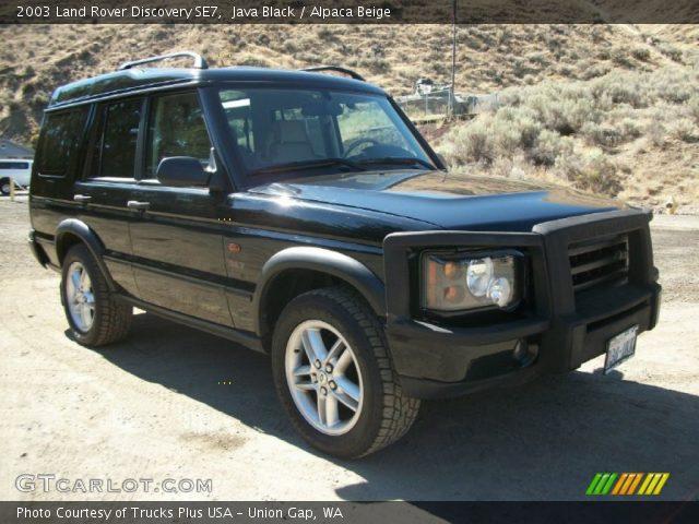 java black 2003 land rover discovery se7 alpaca beige interior vehicle. Black Bedroom Furniture Sets. Home Design Ideas