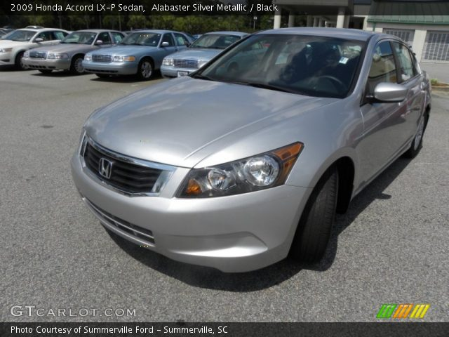 alabaster silver metallic 2009 honda accord lx p sedan. Black Bedroom Furniture Sets. Home Design Ideas