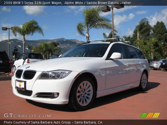 2009 BMW 3 Series 328i Sport Wagon in Alpine White
