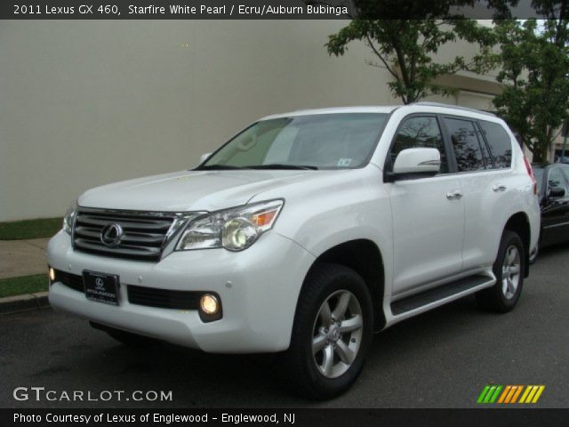 starfire white pearl 2011 lexus gx 460 ecru auburn. Black Bedroom Furniture Sets. Home Design Ideas