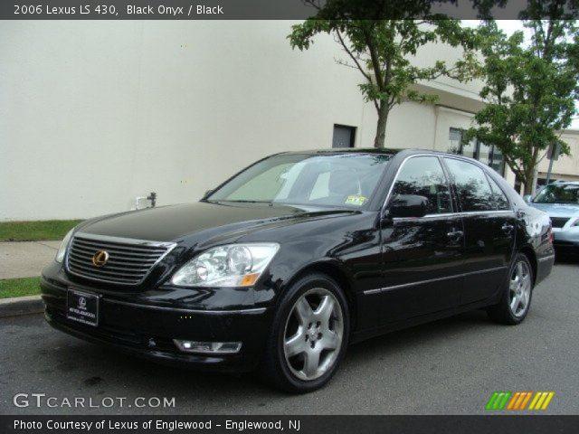 black onyx 2006 lexus ls 430 black interior vehicle archive 70352553. Black Bedroom Furniture Sets. Home Design Ideas