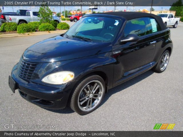 black 2005 chrysler pt cruiser touring turbo convertible. Black Bedroom Furniture Sets. Home Design Ideas