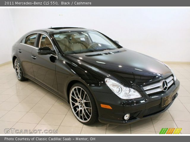 Black 2011 mercedes benz cls 550 cashmere interior for 2011 mercedes benz cls 550