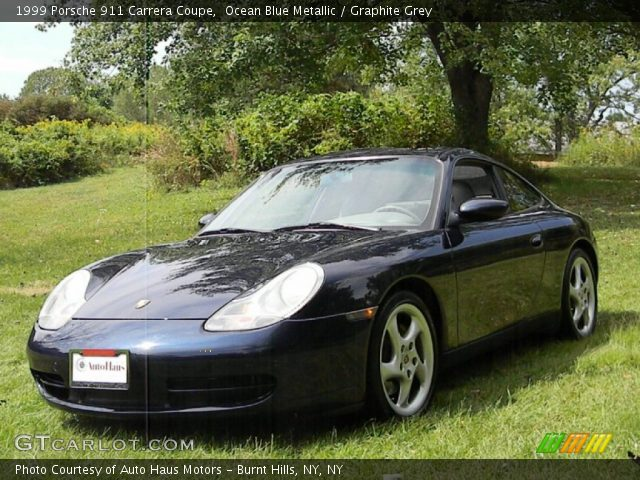 ocean blue metallic 1999 porsche 911 carrera coupe. Black Bedroom Furniture Sets. Home Design Ideas