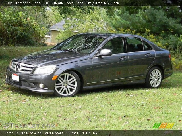 Steel grey metallic 2009 mercedes benz c 300 4matic for 2009 mercedes benz c 300