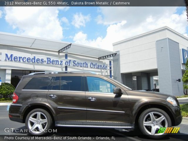 2012 Mercedes-Benz GL 550 4Matic in Dakota Brown Metallic