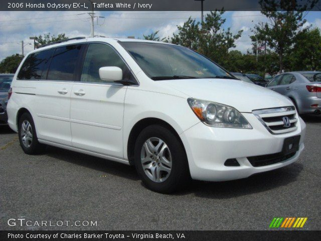 taffeta white 2006 honda odyssey ex l ivory interior. Black Bedroom Furniture Sets. Home Design Ideas