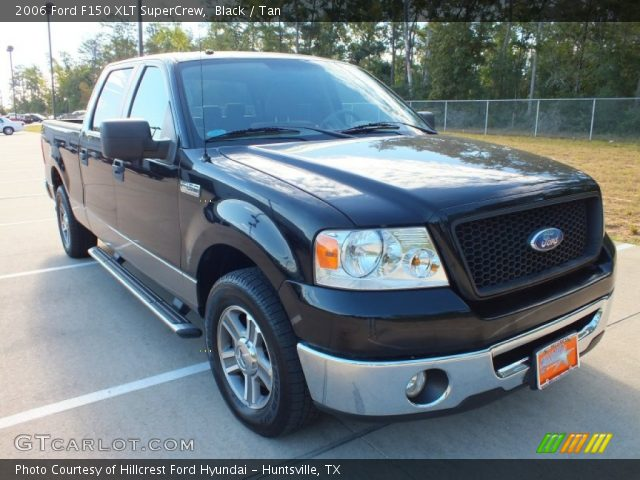 black 2006 ford f150 xlt supercrew tan interior. Black Bedroom Furniture Sets. Home Design Ideas