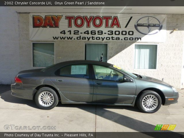2002 Chrysler Concorde LXi in Onyx Green Pearl. Click to see large ...