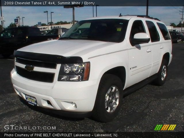 summit white 2009 chevrolet tahoe lt 4x4 ebony. Black Bedroom Furniture Sets. Home Design Ideas