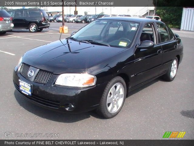 blackout 2005 nissan sentra 1 8 s special edition. Black Bedroom Furniture Sets. Home Design Ideas