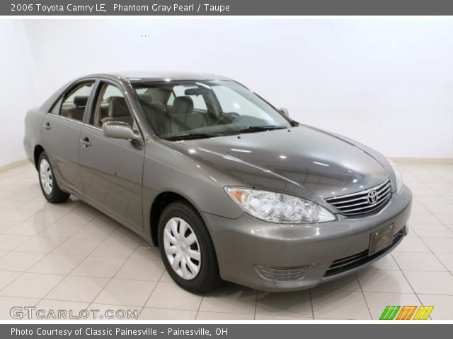 phantom gray pearl 2006 toyota camry le taupe interior vehicle archive. Black Bedroom Furniture Sets. Home Design Ideas