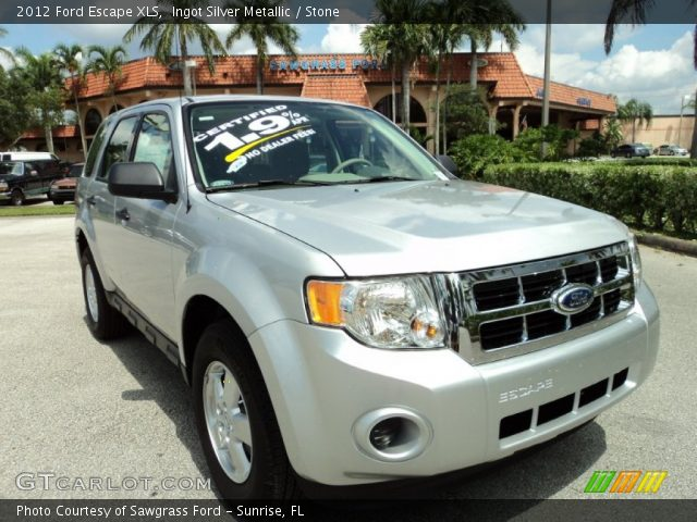 2012 Ford Escape XLS in Ingot Silver Metallic