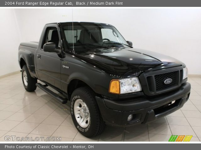 black 2004 ford ranger edge regular cab medium dark flint interior vehicle. Black Bedroom Furniture Sets. Home Design Ideas