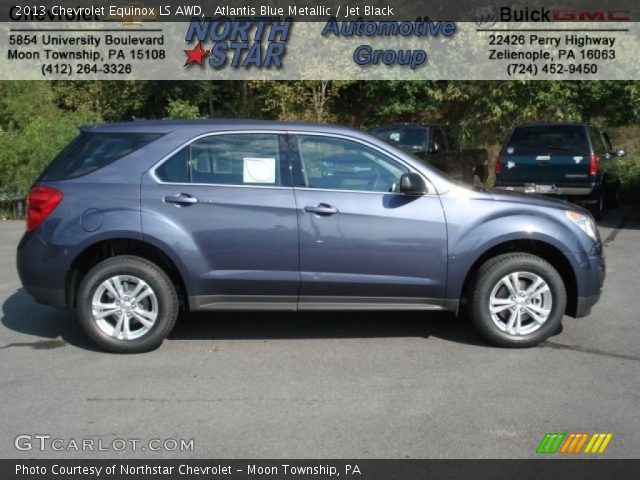 2013 Chevrolet Equinox LS AWD in Atlantis Blue Metallic