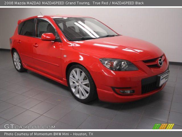 Mazda 3 2008 red