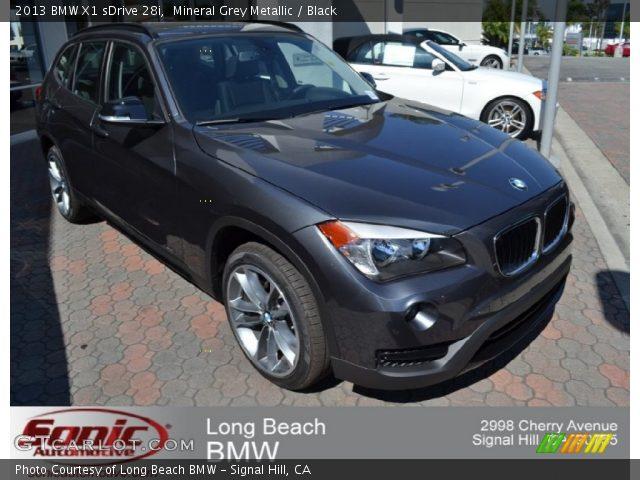 2013 BMW X1 sDrive 28i in Mineral Grey Metallic