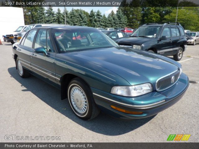 sea green metallic 1997 buick lesabre custom medium. Black Bedroom Furniture Sets. Home Design Ideas