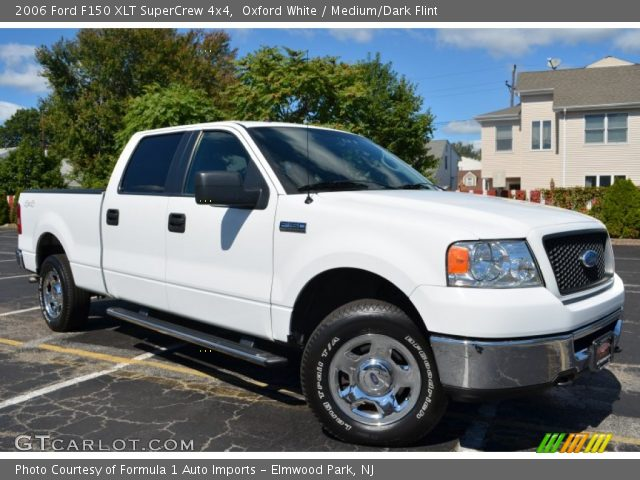 oxford white 2006 ford f150 xlt supercrew 4x4 medium. Black Bedroom Furniture Sets. Home Design Ideas